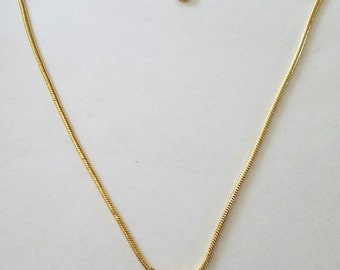 Gold Crystal Cluster Necklace