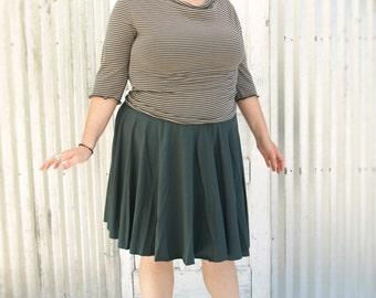 Circle Skirt, Organic Cotton, Made to Order