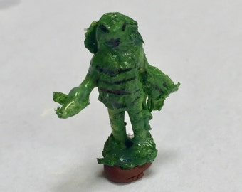 Lagoon Creature HO Scale  Model Train Figure Perfect for Planter or Terrariums