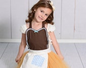 CINDERELLA apron, Cinderella dress up , Cinderella Work  dress up TUTU Apron for kids cute girls dress up costume apron