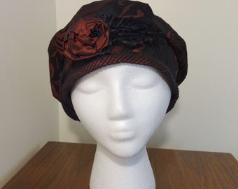 Vintage, Designer Made, Fabric Hat