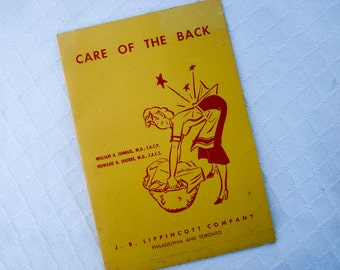Care of the Back booklet - 1967