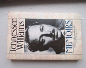 Tennessee Williams Memoirs. Paperback book. 1983.
