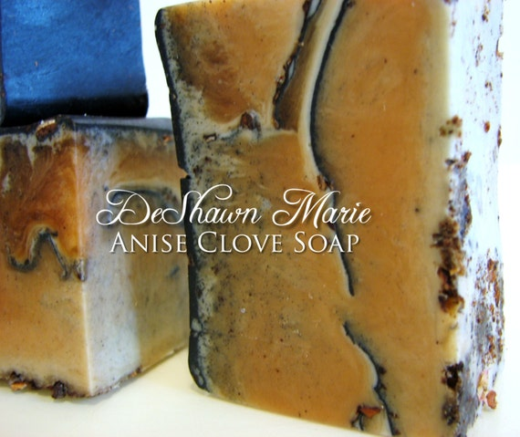 SALE SOAP- Anise Clove Soap - Vegan Soap - Spice Soap- Soap Gift - Soap for men - Father's Day Gift - Christmas Gift - Birthday Gift