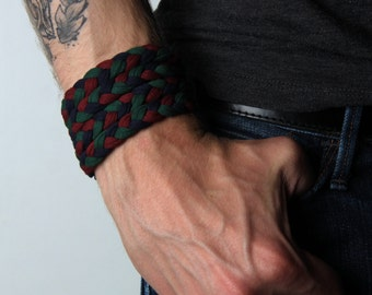 Bracelet, Braided Bracelet, Woven Bracelet, Bangle Bracelet, Love Bracelet, Arm Bracelet, Cool Bracelet, Cuff Bracelet, Hippie Bracelet, Men
