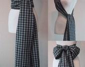 Tartan Shoulder/Waist Sash for Costumes - Unisex - Pirate Sash or Bow Sash - Men or Women - *Last One - Discontinued Item*