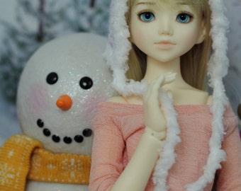 Shimmer Pixie Hat for MSD BJD, 1/4 Dollfie, Minifee