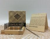 1930s Wooden Weave it loom by Donar Small 2 inch weave it loom