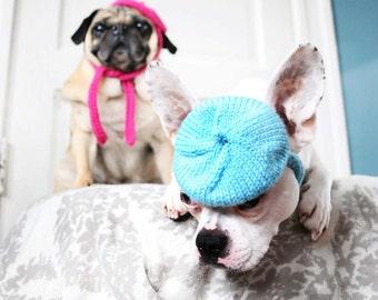 Dog Hat - Petite French Beret - Pet Clothing - Dog Clothing - Dog Christmas Gift - Gift for Pet Lovers - Pet Fashion