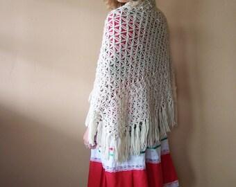 Crochet Shawl Etsy