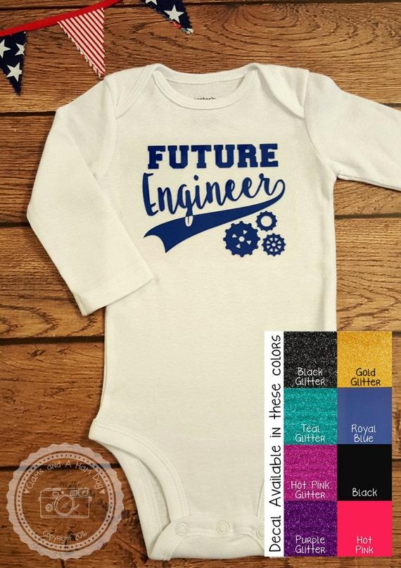 Baby Gifts For Engineers : Future engineer onesie unisex engineering math by