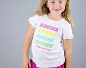 I made it 100 Days Shirt, Girls' 100 Days Smarter Shirt, 100 Days Shirt, School Shirt, LDM