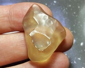 Sale LIBYAN DESERT GLASS 8.9 Gram Top Quality Natural Libyan Gold Tektite Meteorite Impact Glass From Egypt