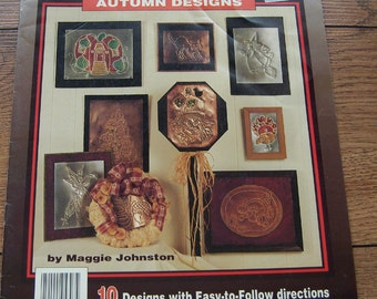 1993 Metal Punching pattern Autumn Designs