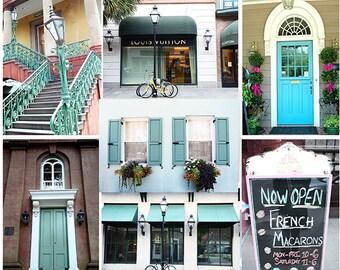 Charleston Photography, Charleston Doors, Charleston Prints, Charleston Flower Boxes, Charleston Rainbow Row Prints, Charleston Note Cards