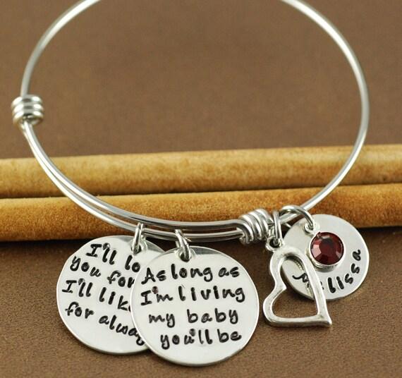 Love you forever bracelet