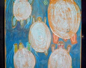 Reduced!  - The Turtles and the Goddess - 2016