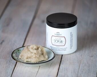 Coffee House Sugar Scrub   Emulsified Sugar Scrub   Exfoliating Scrub   9 oz Jar