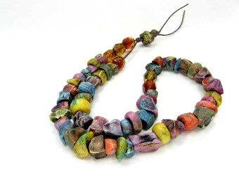 BARGAIN BUNDLE - Poppet Ceramic Clay Bead Mix - Craft Jewelry Beads  No. 363