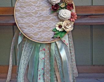 Dream Catcher Embroidery Hoop