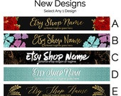 Etsy Banners - Etsy Store Graphics - New Etsy Shop Banner Designs Selection - Etsy Shop Supplies