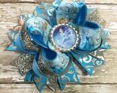 Cinderella Hair Bow, Jasmine, Disney Inspired, Newborn Headband, Infant Headband, Baby Headband, Baby & Toddler, Birthday Bows, Halloween