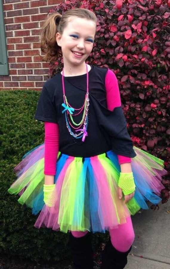 Girls 80s costume 80s costume 80s Halloween costume 80s80s Clothes For Girls