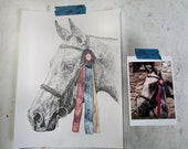 Custom drawing of your horse