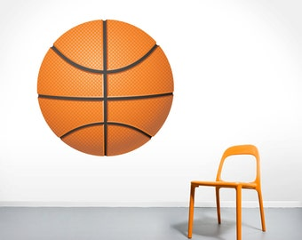 Basketball - Printed Sports Wall Decals