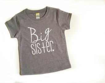Big Sister shirt | new sister | big sister announcement | pregnancy announcement | big sister gift | sibling shirts | big sister t-shirt