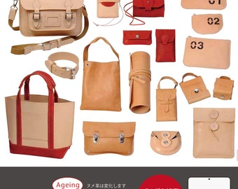 PigPong's Tanned Leather Craft Handbook (Japanese craft book)