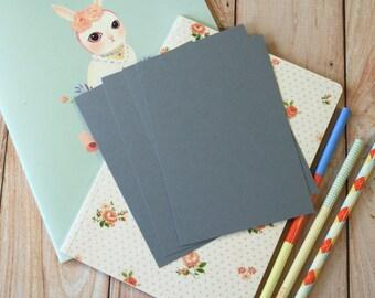 Medium Grey postcard blanks