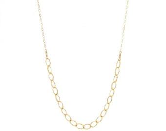 Long U Chain Necklace