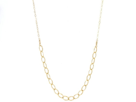 Long U Chain Necklace