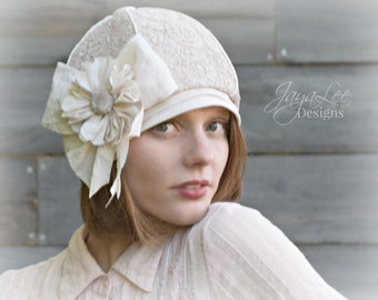Chic Beret Hat, Lace Beanie Hat, Mori Girl Fashion, Chemo Hat