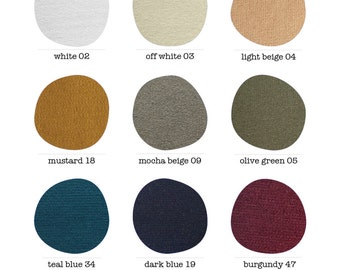 Color Card / Punto Fabric / Ponte Color Card / Colors / Color Variations / marcellamoda - MA1000