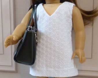 CLEARANCE!!  18 inch Doll A-Line Dress with free Tote and Boots