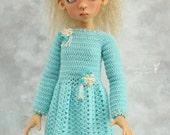 Dress (+ tights) for Kaye Wiggs MSD, BJD