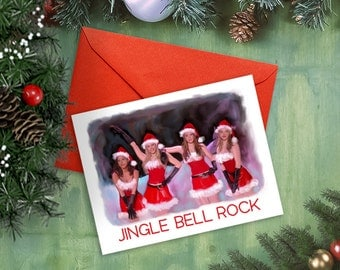 Mean Girls Jingle Bell Rock Christmas Card