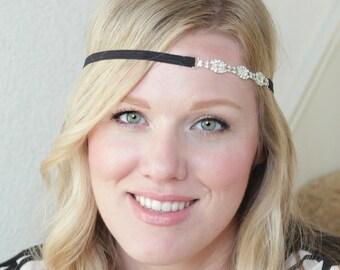 Crystal Headbands for Women, Flapper Headband for Adults, Headband for Prom, Wedding Headbands