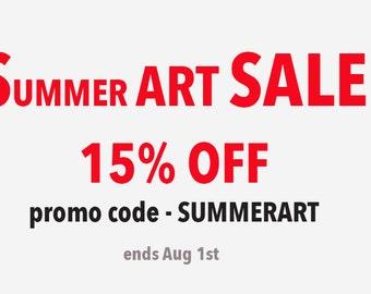 SALE SUMMER SALE Paintings