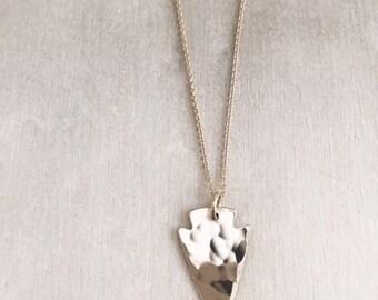 Mini Arrowhead Necklace - Arrowhead Necklace