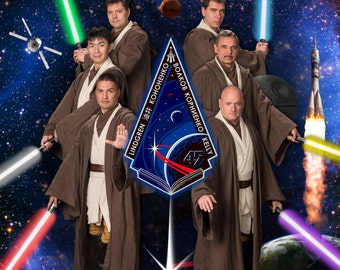 NASA Jedi Astronauts Poster, ISS Expedition 45
