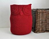 Large Owl Basket For Josie