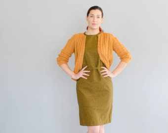 Vintage 1960s Pendleton Dress - 60s Wool Shift Dress - Portland Wool Dress