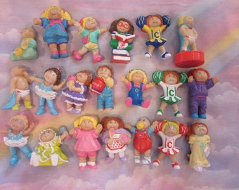 Cabbage Patch Kids PVC Figures Lot of 20