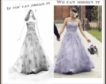 Design Your Own Custom Wedding Dress from Award Winning Designer in Teaneck, NJ