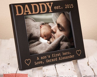 Christmas Gift For Dad - Personalized Dad Picture Frame - Christmas Gifts for Dad - Birthday Gift for Dad - Dad Christmas Gift