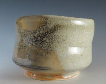 Carbon-trapped Porcelain Tea Bowl (318)