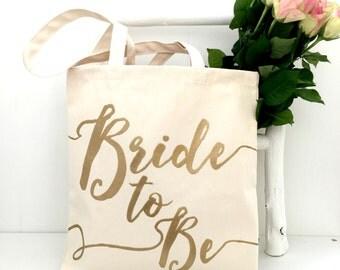 Bride To Be | Wedding Bag | Bridal Shower | Bachelorette | Wedding | Bride | Engagement Gift